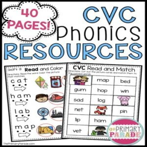 cvc-phonics-resources