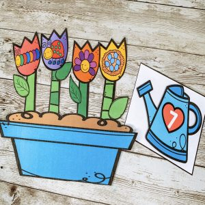 preschool-counting-flower-pots-activity