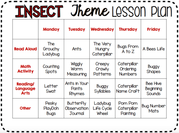 preschool-bug-lesson-plans