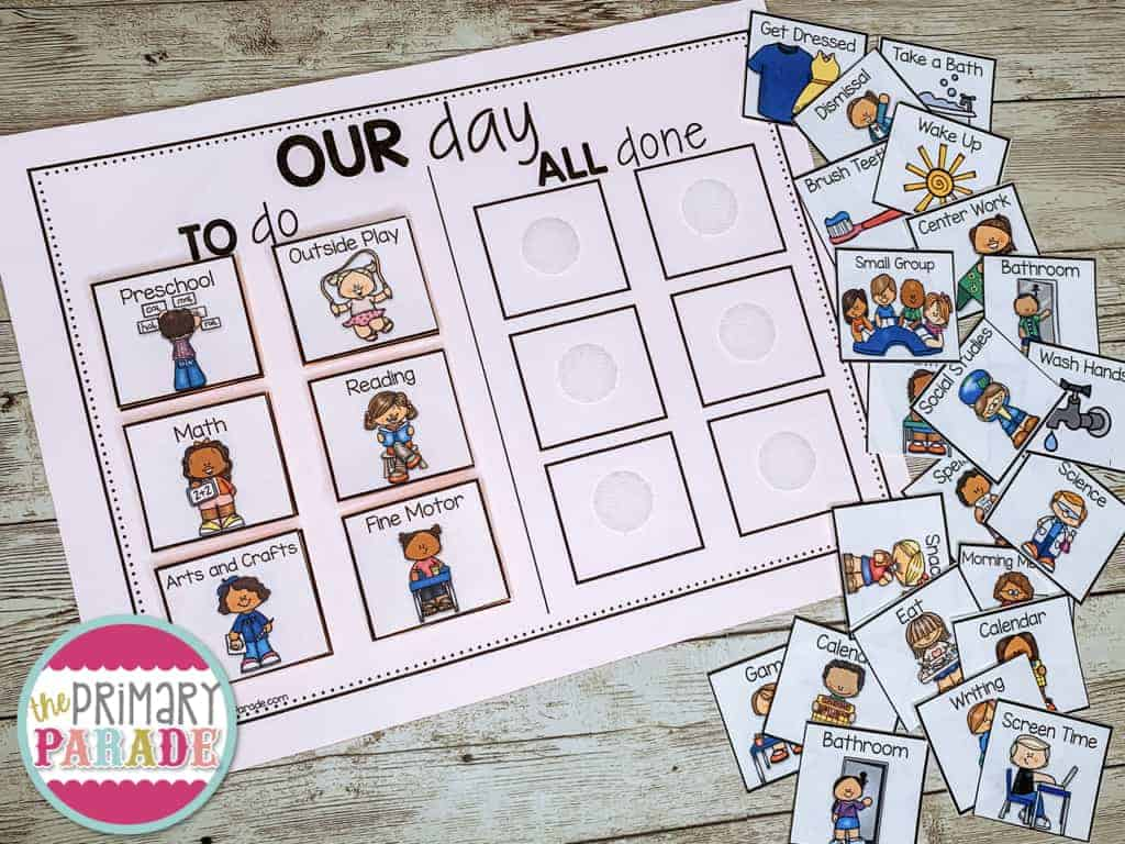 preschool-visual-schedule