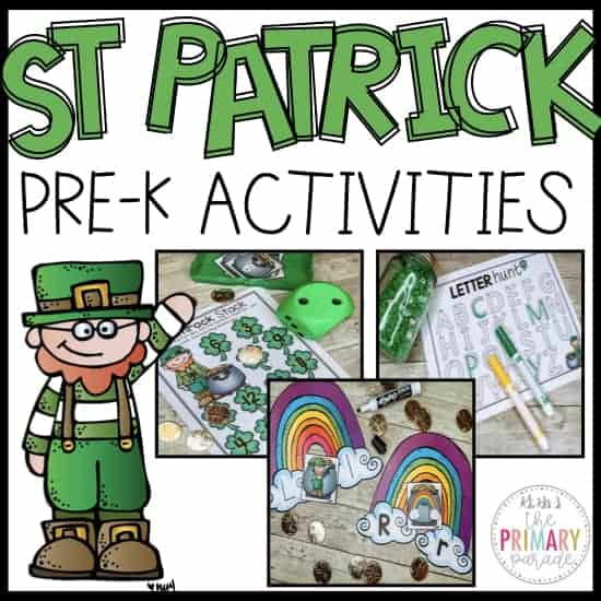 st patricks day activities and printables for kids to do this March