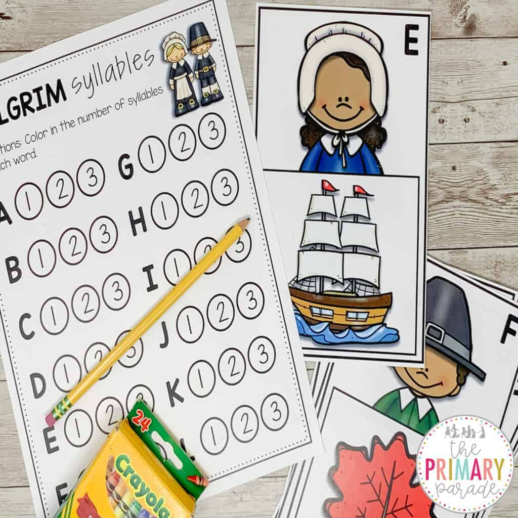 preschool thanksgiving worksheets and activities