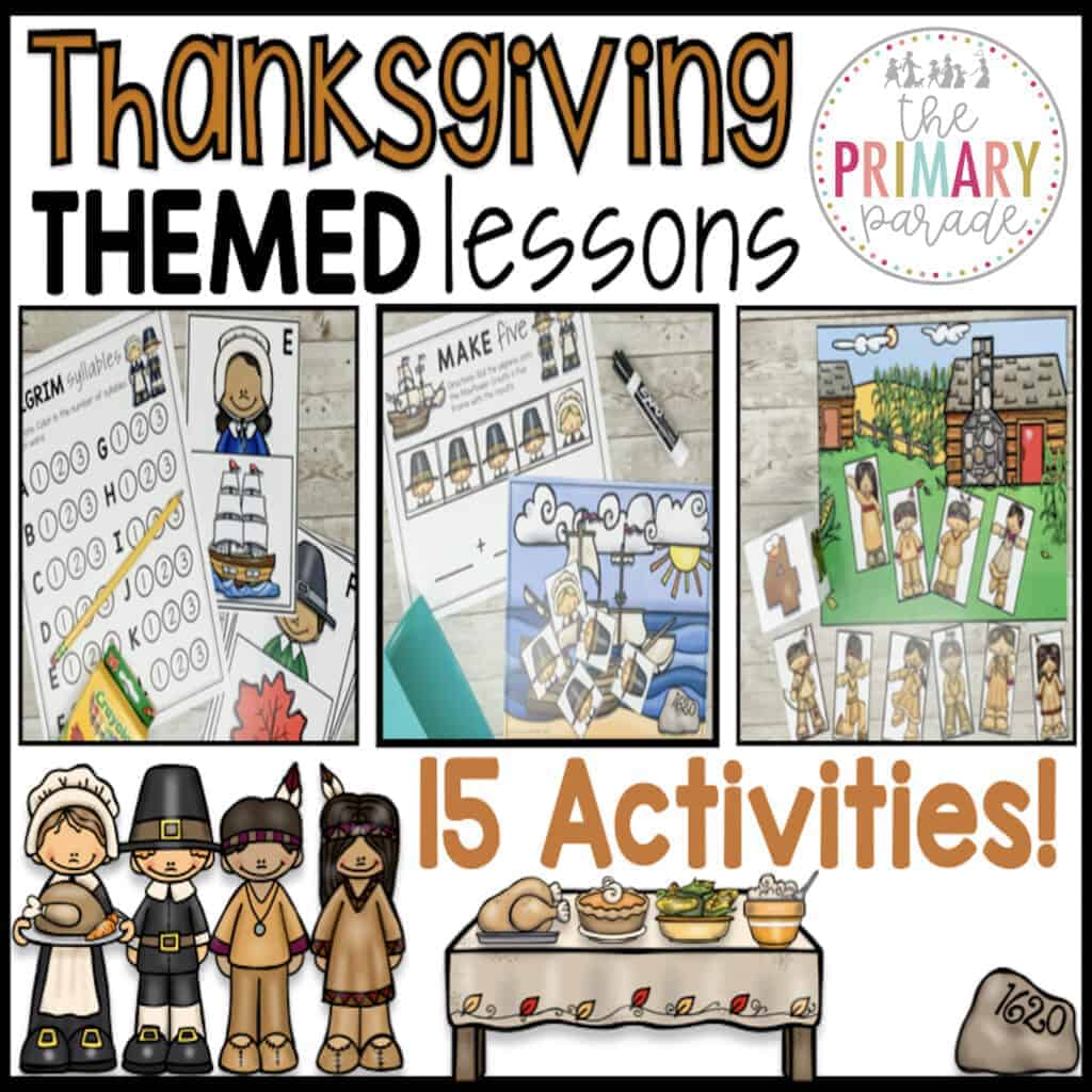 thanksgiving activities for kids to purchase