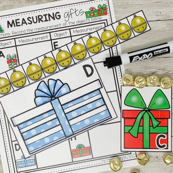 measuring activity for Christmas time