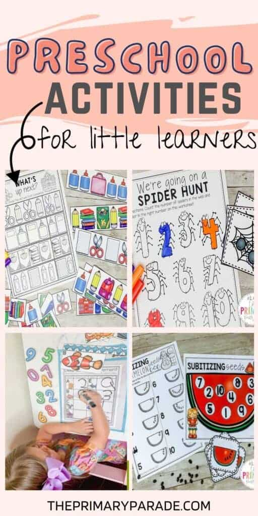 Free addition activities for kids