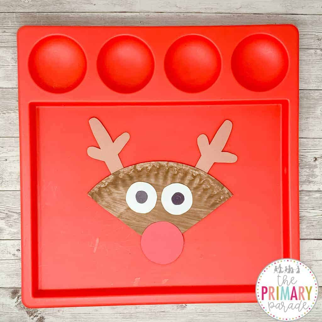 This reindeer craft is an easy and cute Christmas craft for kids