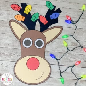 reindeer craft for preschool names