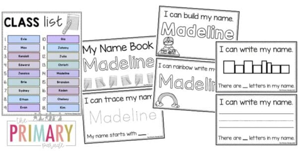 my name book editable