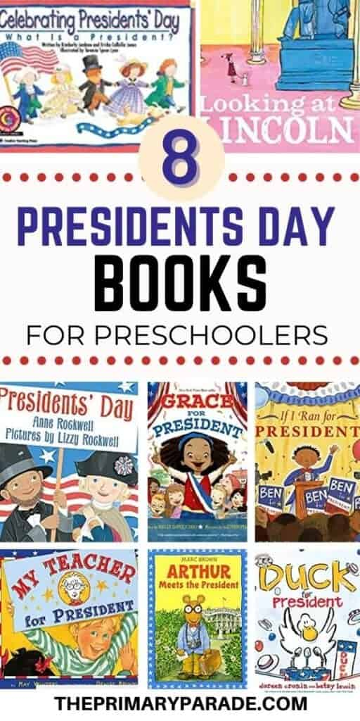 Presidents Day books for preschoolers