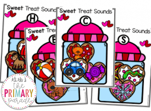 Valentines Day activities for kids to practice beginning sounds