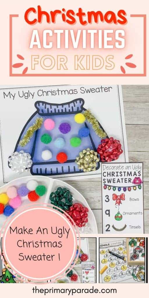 winter activity printables for kids