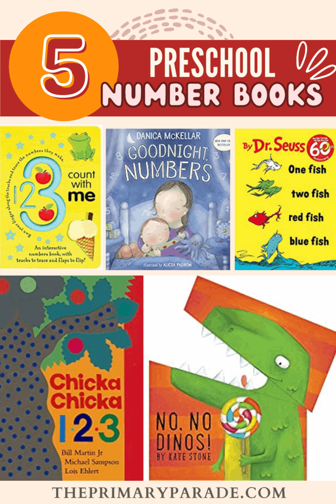 the best books to teach numbers with toddlers