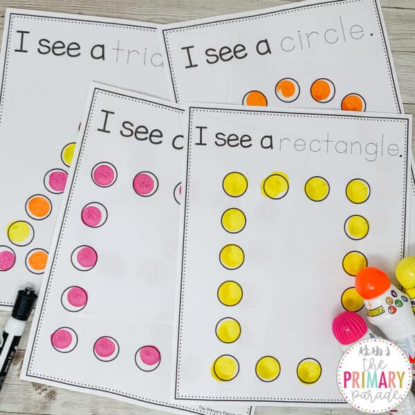 dot marker printables