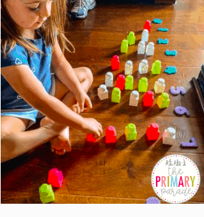 teach numbers with toddlers by learning to count