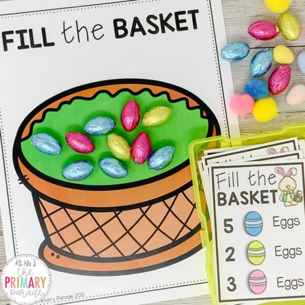 easter counting activity