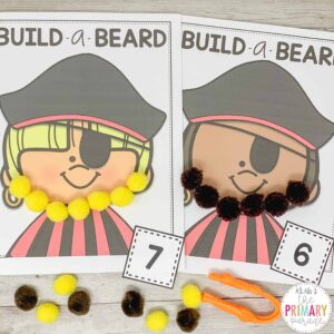 pirate activity for a fun pirate theme