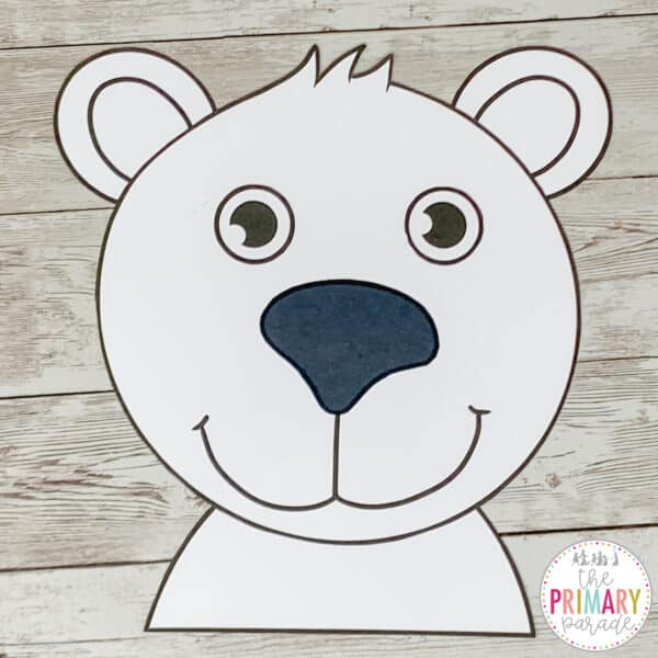 polar bear craft for preschool