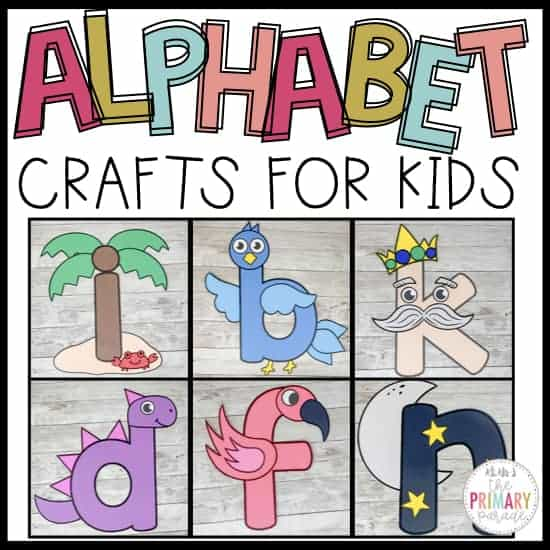 alphabet crafts for preschool