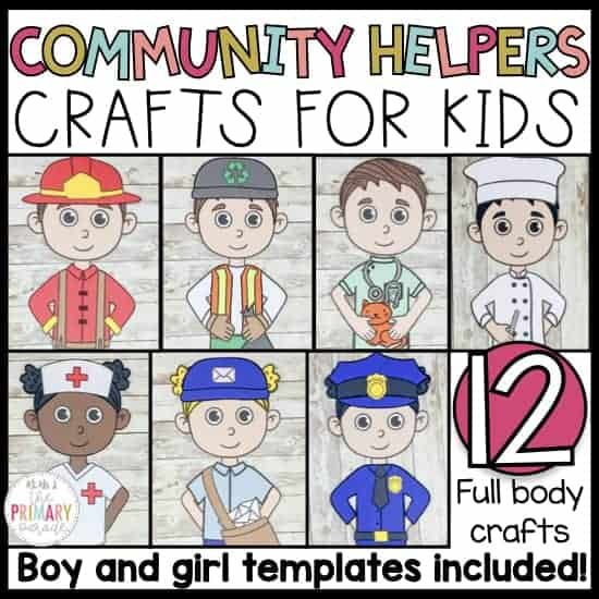 community helpers crafts for career day