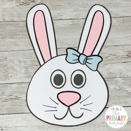 This Easter bunny craft is the perfect Easter craft for kids