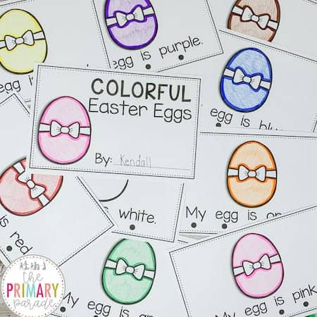 emergent readers for kids to learn to read this Easter