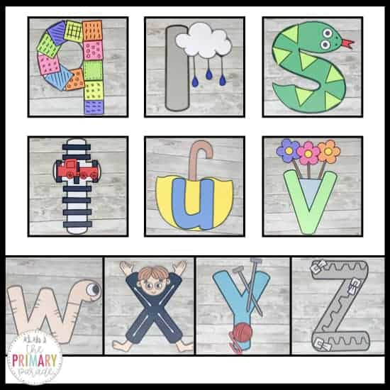 lowercase letter crafts for preschool kids