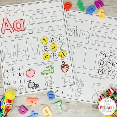 alphabet worksheets to teach kids letters of the alphabet