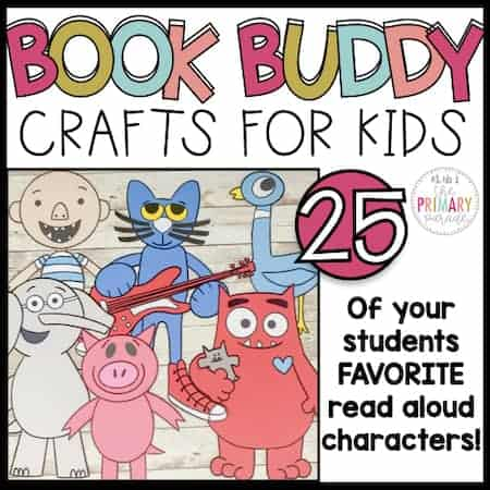book character crafts