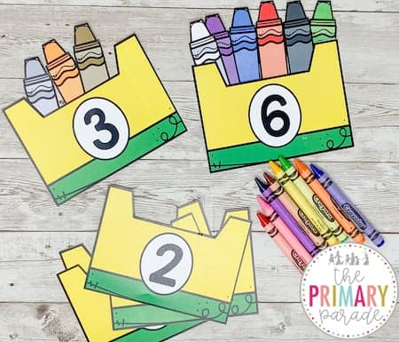 back to school counting activities