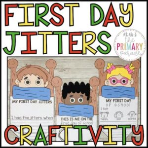 first day jitters craft