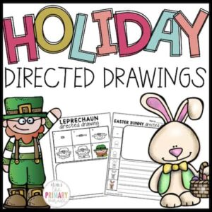 St Patricks Day directed drawings