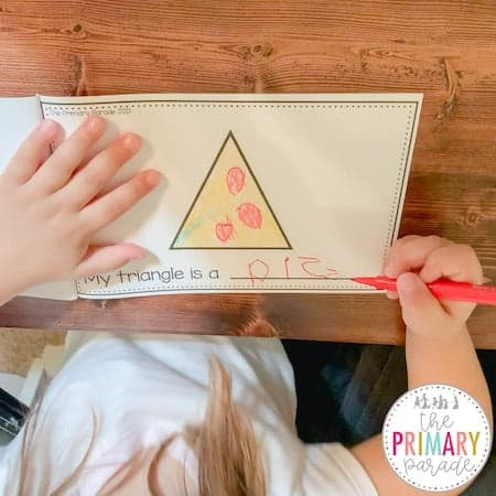 My shape book is great for teaching kids shapes in real life.
