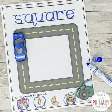printable shape worksheets to teach your toddler shapes