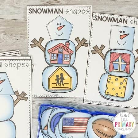 shape activities for kids to learn real life shapes