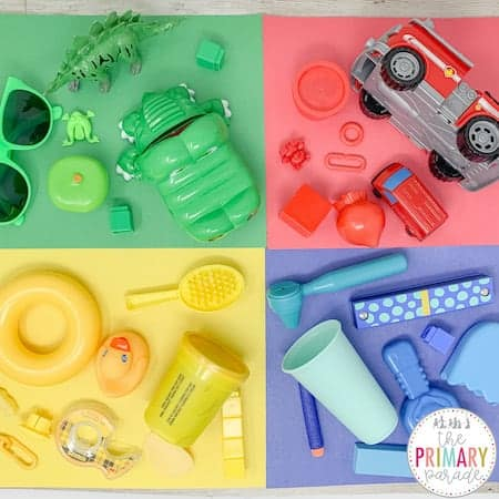 St Patricks Day activities for preschool to learn colors