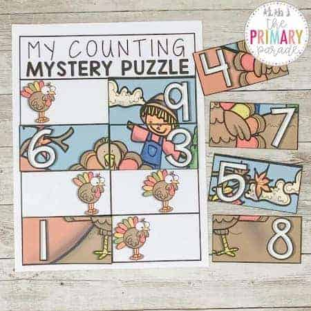 counting activities for kids to learn numbers and counting this Fall.