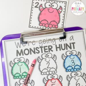 Monster activities for kids to do this Halloween
